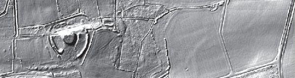 Motte de Castellaouenan, Paule
