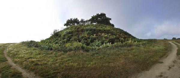 Motte de Rospellen, Carnoët,  Photo: H. Paitier