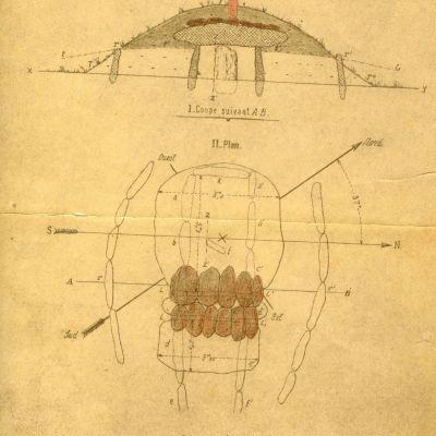 Brennilis Allée couverte de Ty ar Boudiqued