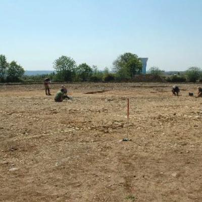 Kermenguy, site en cours de fouille