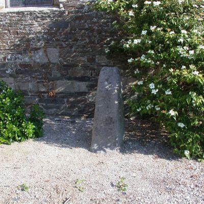 Stèle funéraire du Bourg. Cliché A. Provost