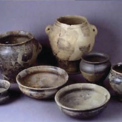 St-Symphorien, vaisselle en céramique, Ménez