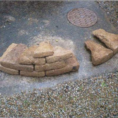 Brignolec, blocs de parement, B. Leroy